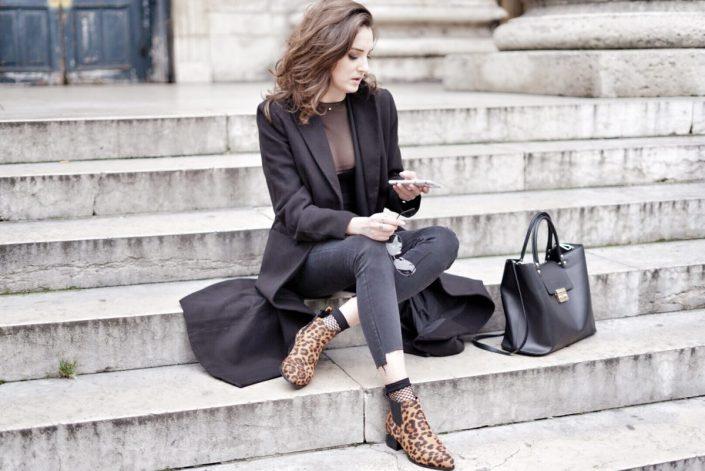 Comment porter ... les chaussures imprimées léopard ?
