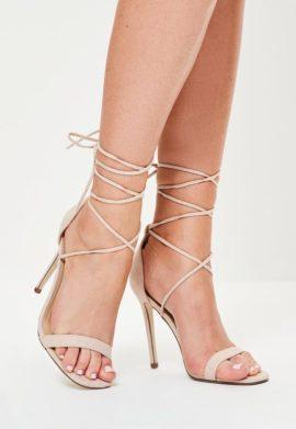 sandales--talons-nude-laces