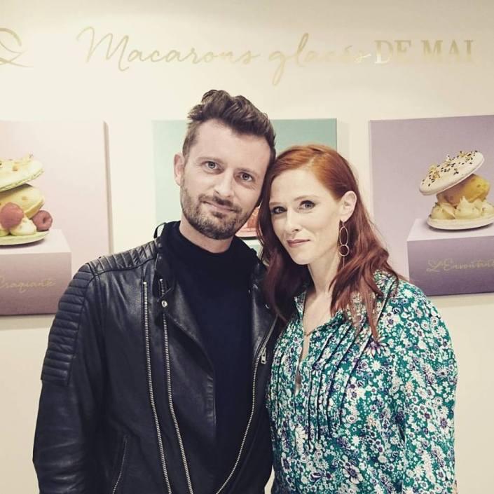 Inauguration de la boutique éphémère Maison Carte d'Or par Audrey Fleurot
