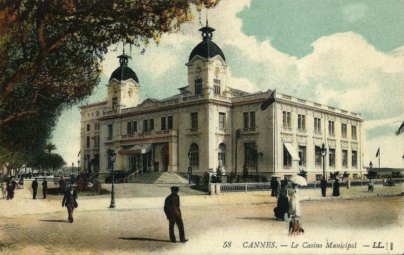 Ancien Casino Municipal de Cannes ; Source: CPArama