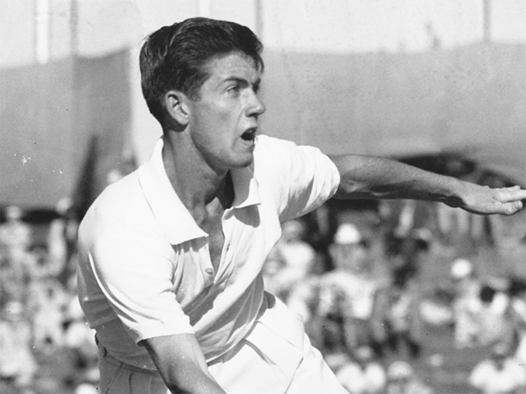 Ken Roswall Source: Tennis Australia
