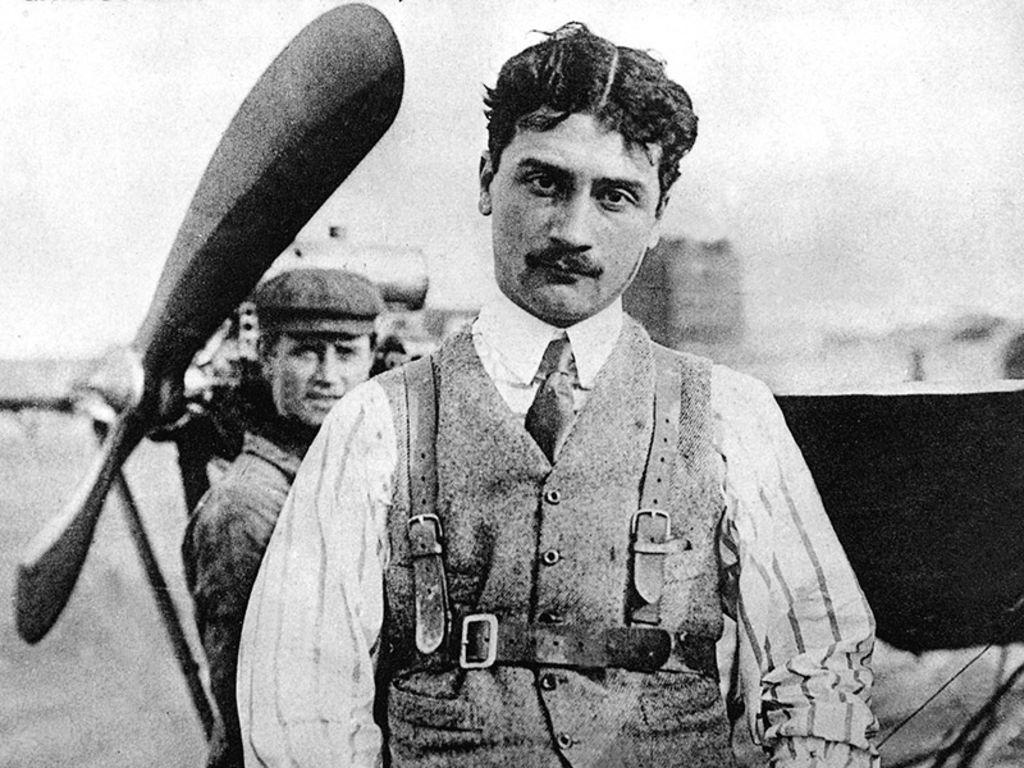 L'aviateur Roland Garros. Source: Téléstar