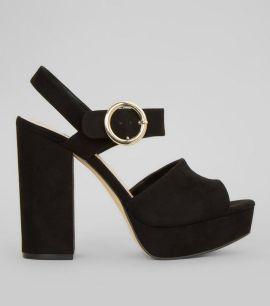 chaussures-en-suédine-noires-à-talons-block-et-à-brides-à-boucle