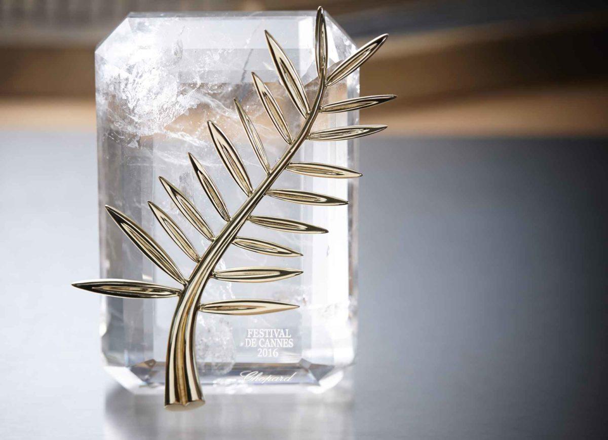 Trophée actuel de la Palme d'Or ; Source: 20minutes