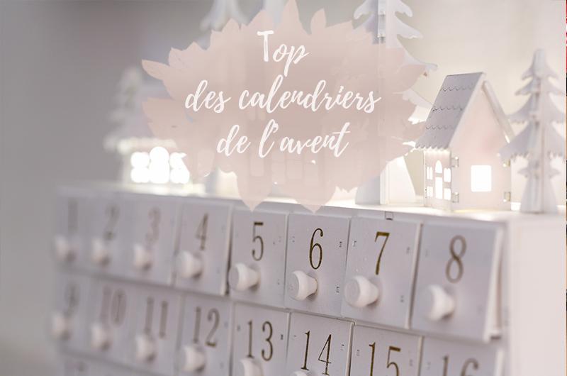 Attendre les fêtes de Noel avec LE calendrier de l'avent !