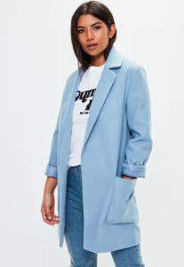 manteau-bleu-coupe-slim