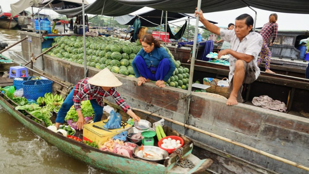 Can Tho Floating Market vente