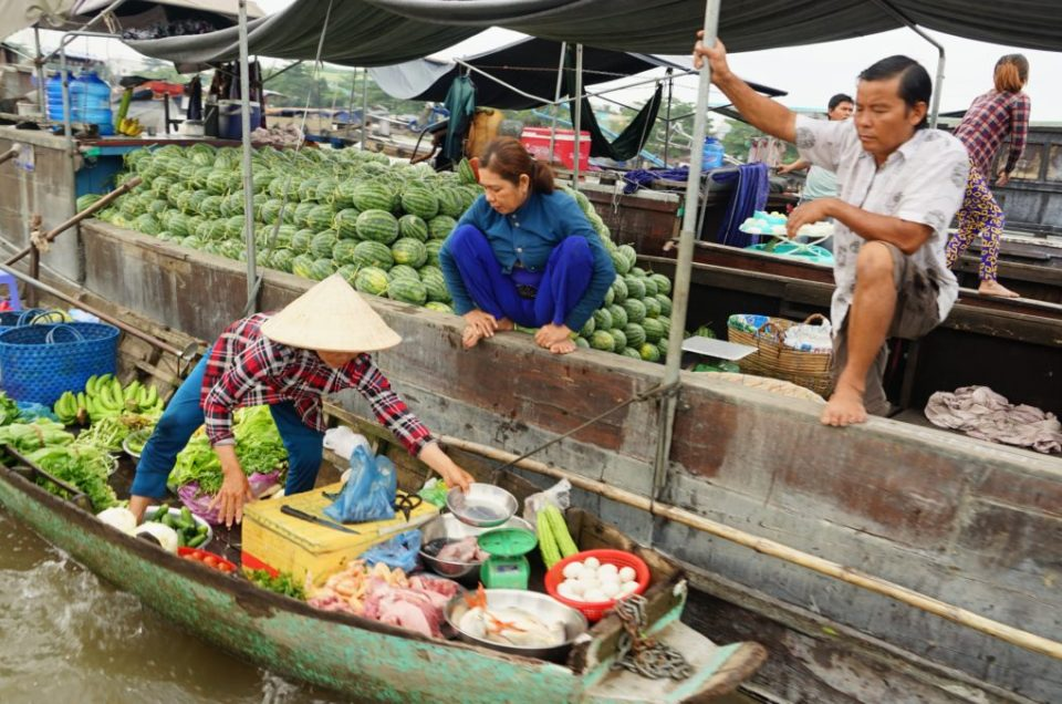 Delta du Mékong - CanTho et CaiBe - Floating Market