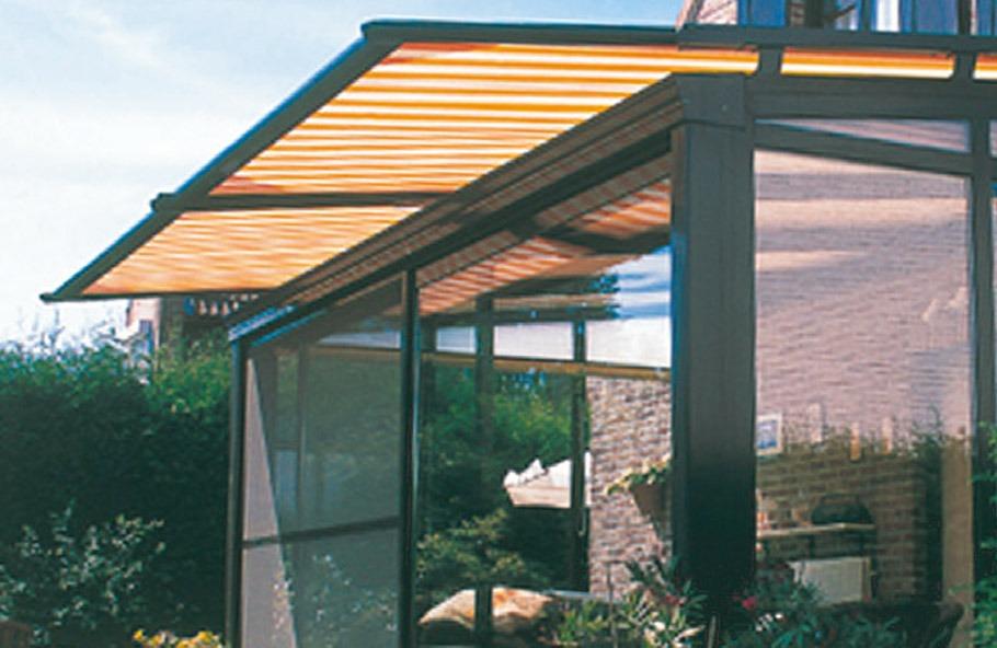 stores de toiture de veranda quiberon