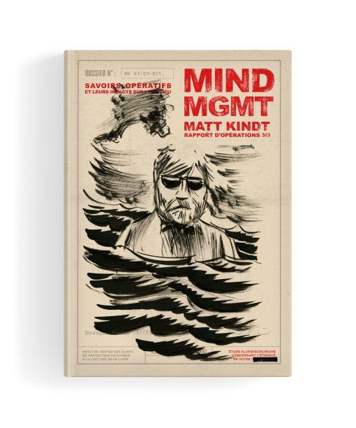 Mind MGMT - Rapport d'opérations 3/3 - Couverture