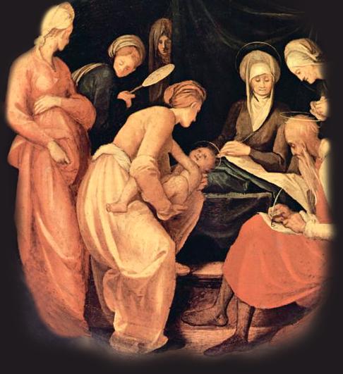 Se le cumplió a Isabel el tiempo de dar a luz, y tuvo un hijo.  San Lucas 1,57