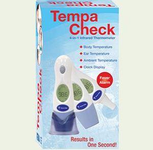 Termómetro Tempa Check 4-en-1.