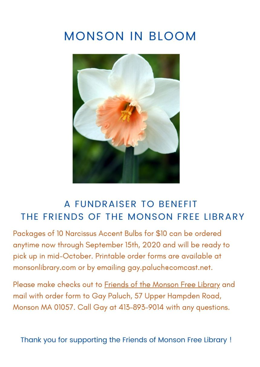 Monson in Bloom Flyer
