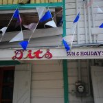 Dits Restaurant in Belize City…for being a homey and pleasant group of people who not only cooked us delicious chicken stew, but also let us have free coffee and a discounted breakfast when you refused to take $20 USD bills for the sake of our convenience. 11/28/11.