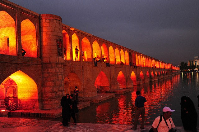 To See Half The World: Esfahan