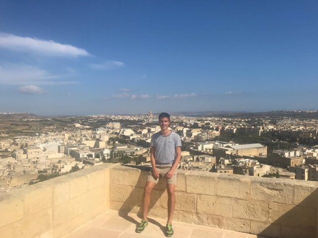 Yannick...for being Samin's friend who despite seeing him just last week at your graduation, decided to come join us in Malta anyway at the last minute, proving yourself immediately to be a natural monsooner at heart as you inspired us to see both Mdina and Gozo in a single day! 05/31/17.