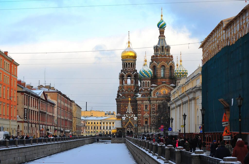 Saintly Saint Petersburg