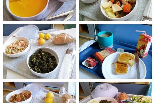 dieta hospital vegetariana