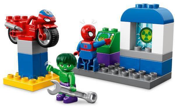 lego duplo mickey minnie super heroes juguetes educativos infantiles