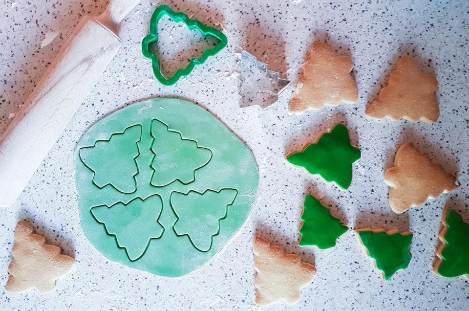 galletas navidad fondant decorado