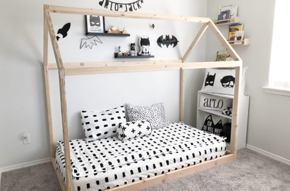 montessori bedroom - habitacion infantil - dormitorio montessori - cama - bed 3