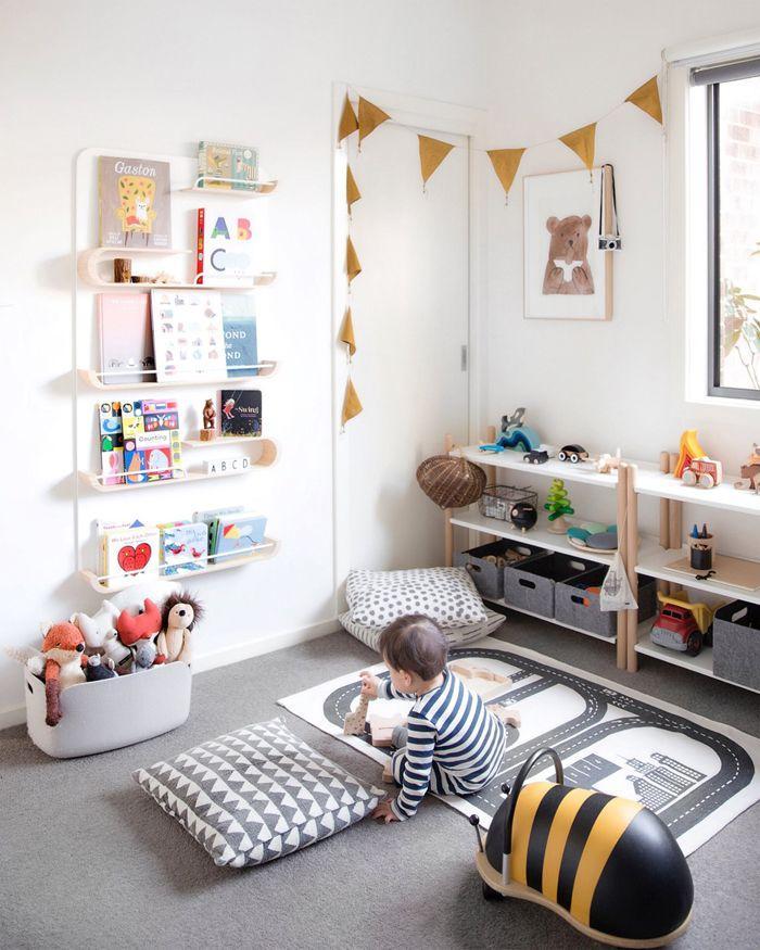 montessori bedroom - habitacion infantil - dormitorio montessori - orden 3