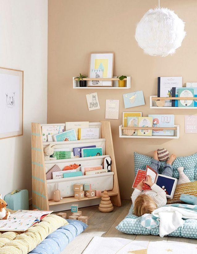montessori bedroom - habitacion infantil - dormitorio montessori - rincon de lectura