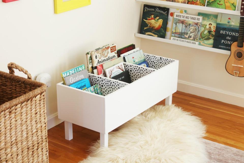 Ideas para crear un rincon de lectura Montessori infantil 10