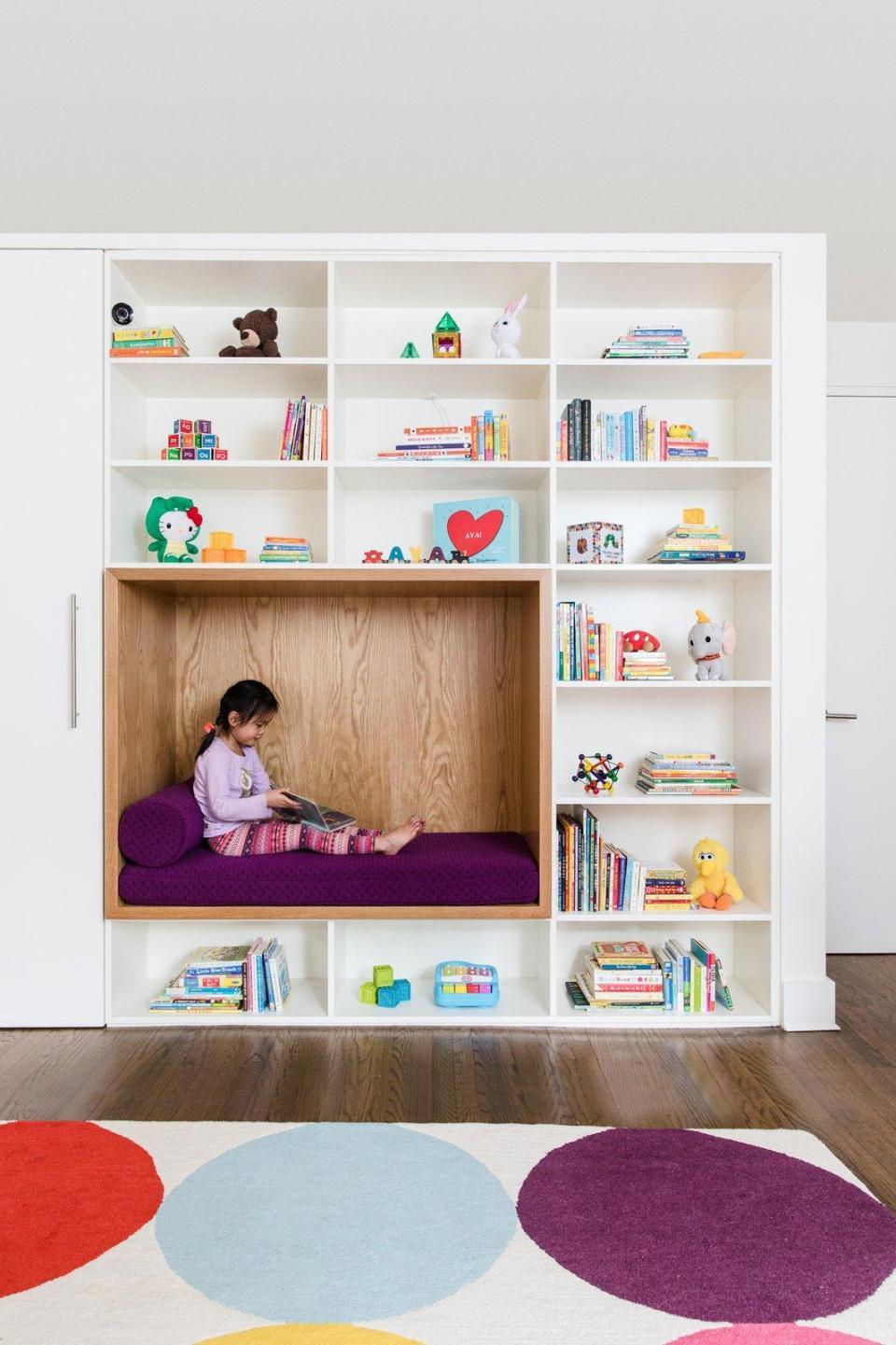 Ideas para crear un rincon de lectura Montessori infantil 6