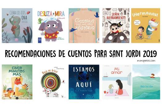 Recomendaciones de cuentos para Sant Jordi 2019