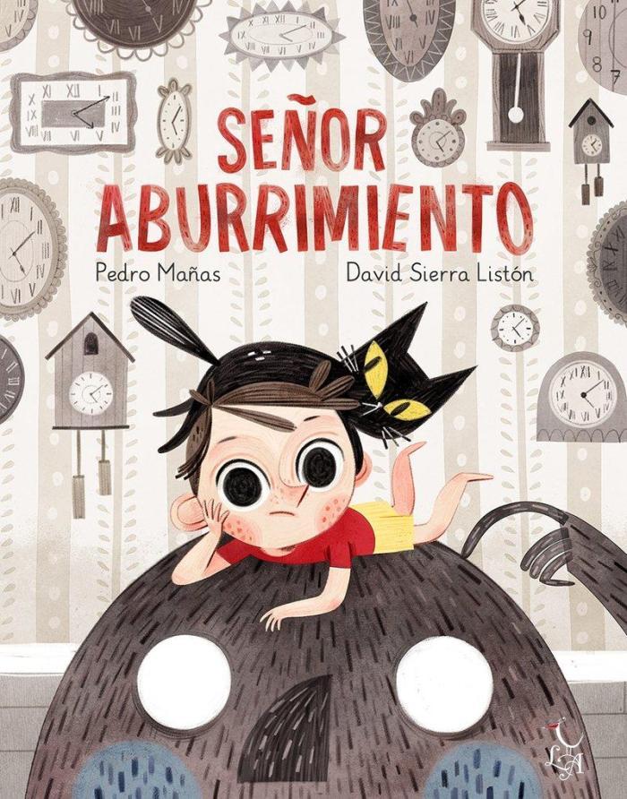 Recomendaciones cuentos infantiles Sant Jordi - Pedro Mañas - Señor Aburrimiento