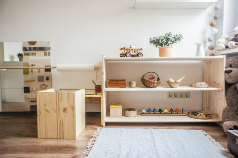 montessori nursery room habitacion montessori