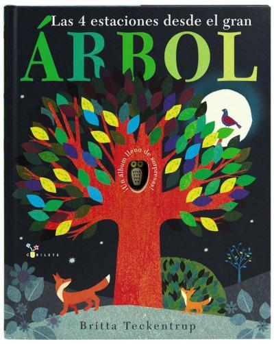 las 4 estaciones del gran arbol - libros de otoño para niños - autumn children books - contes de tardor