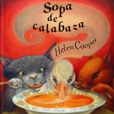 sopa de calabaza - libros de otoño para niños - autumn children books - contes de tardor