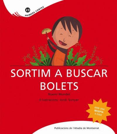 sortim a buscar bolets - libros de otoño para niños - autumn children books - contes de tardor