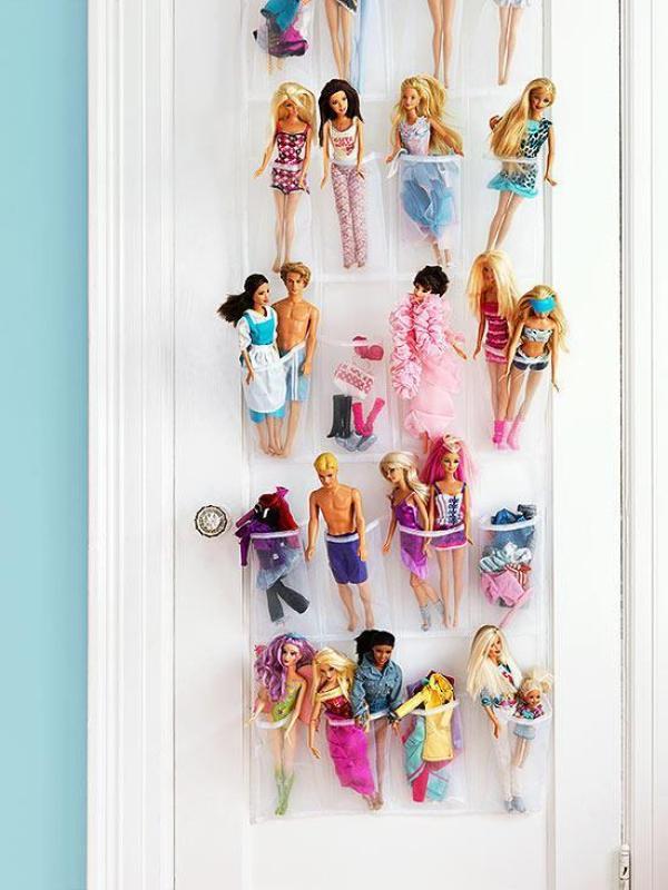 toy organization hacks - ideas de organizacion de juguetes 12