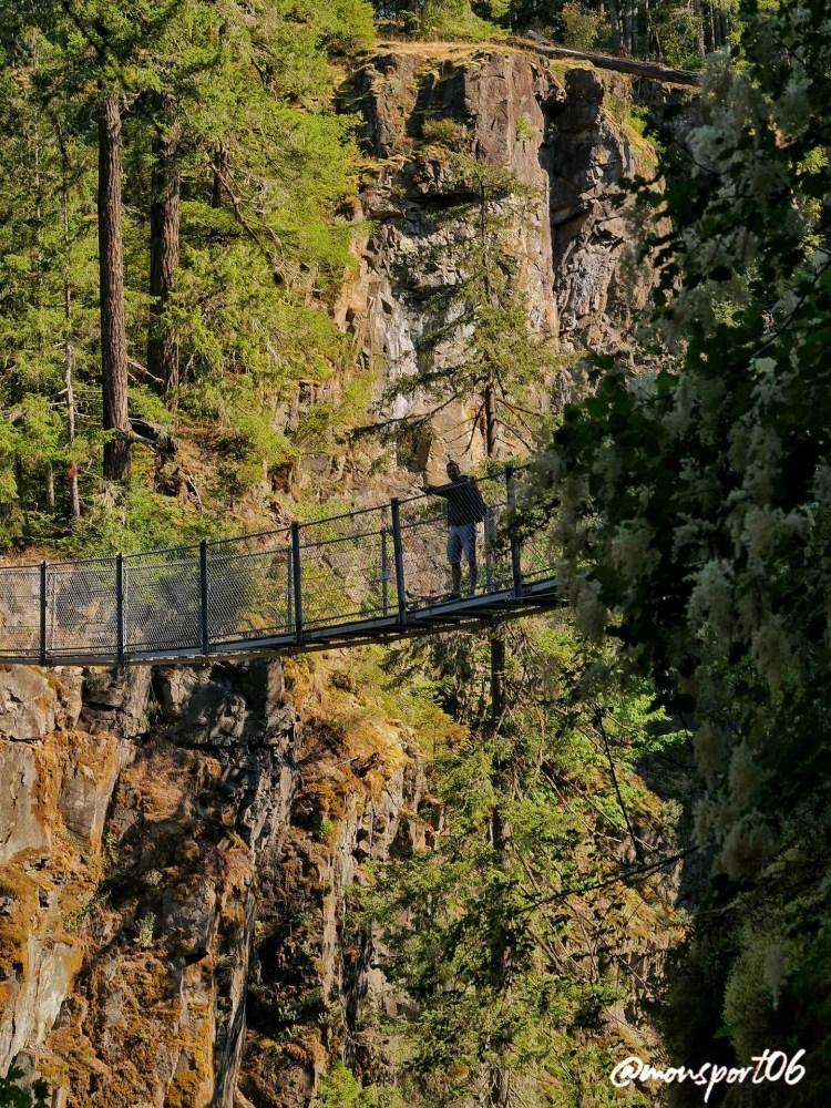 Elk Falls Park Vancouver Island