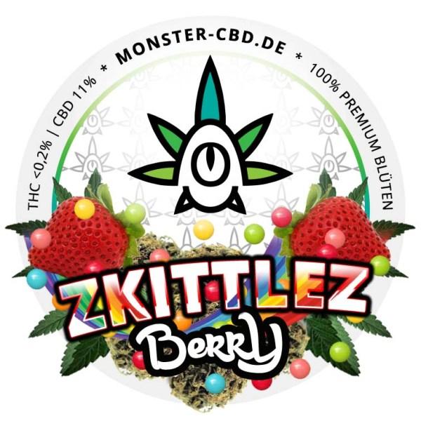 Zkittlez Berry 3g • 10% CBD Premium Blüten • Elite Blüte