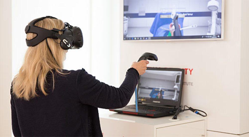 pelatihan realitas virtual