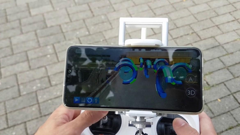 ar pelatihan drone
