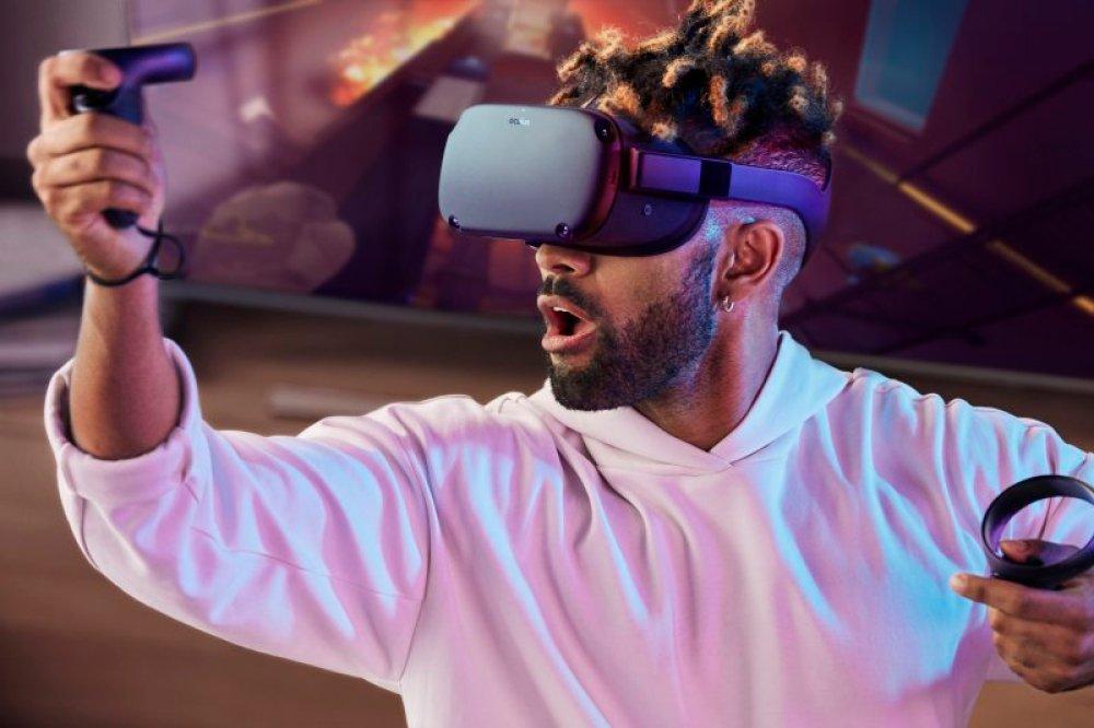 bermain Oculus Quests Facebook