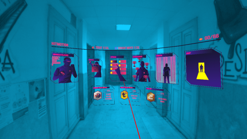 Game fitness Mixed Reality