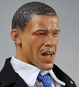 barack obama gamu toys japan doll head