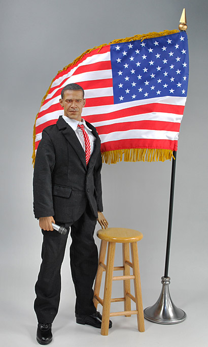 obama with stool