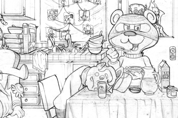 Patrick-Ballesteros-cereal-killer-sketch-detail