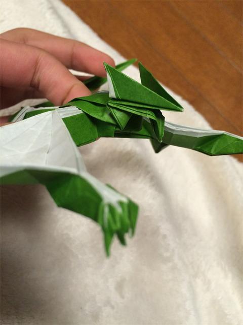 ナルガクルガ 折り紙3