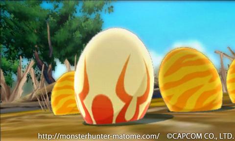卵 モンスターハンターストリーズ
