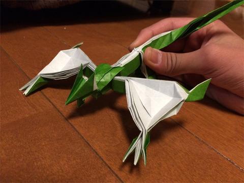 ナルガクルガ 折り紙1