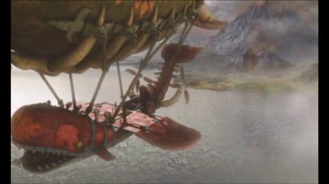 飛空船の風景3