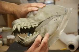 Werewolf jaws.